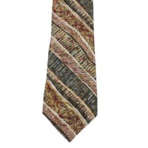 Multicolor Tie Silk Necktie Neck Tie